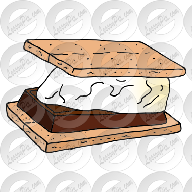 png freeuse library Smores clipart. Picture for classroom therapy