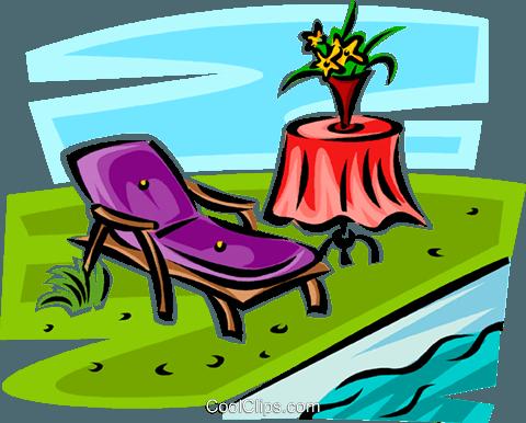 jpg stock S'mores clipart beach. Lawn chair beside a.