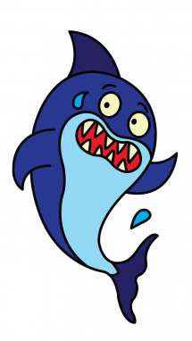transparent stock How to Draw a Baby Shark