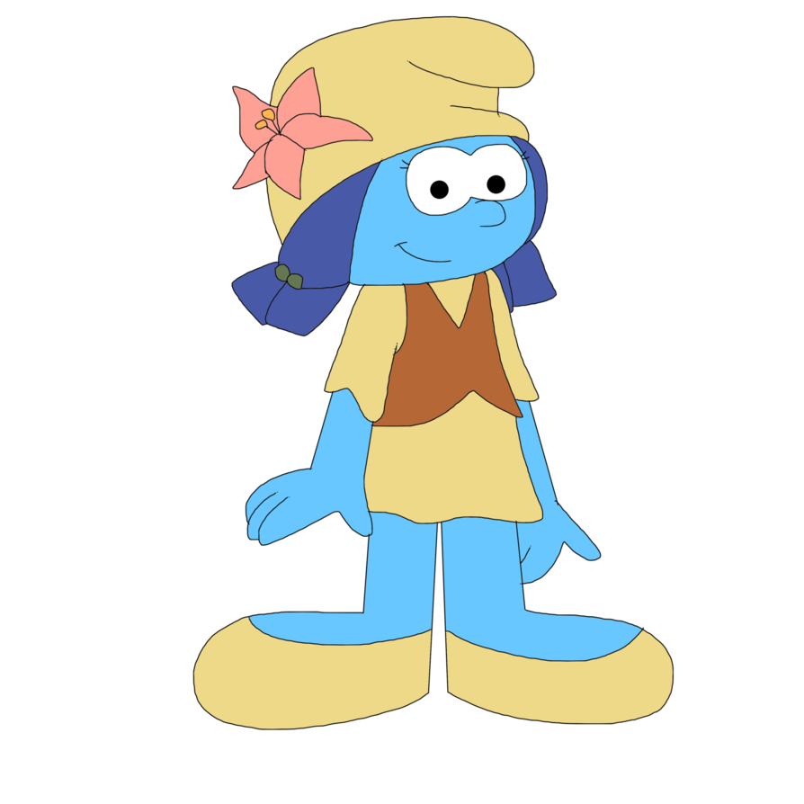 image free library Unnamed female Smurf from Lost Village by MarcosPower