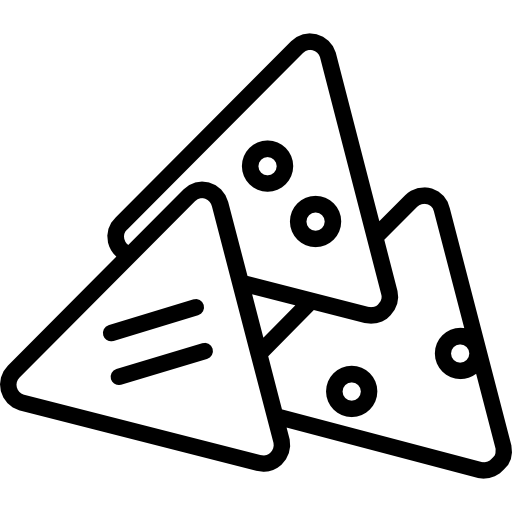 image transparent library Snack clipart black and white. Nachos food restaurant fast