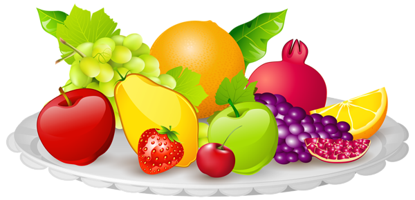 free library With fruits png image. Snack clipart vegetable plate