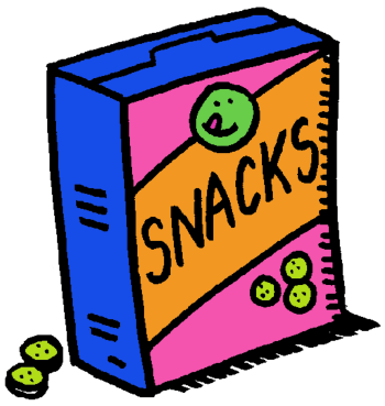 picture transparent Snacks clipart