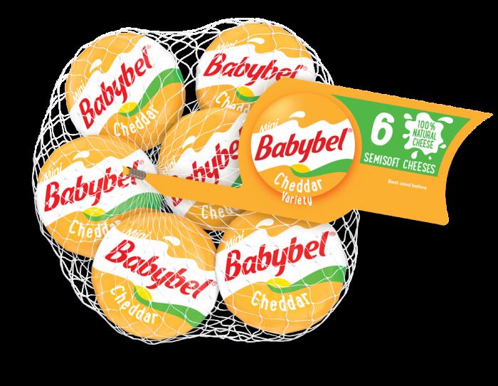 jpg black and white Mini Babybel Cheddar Variety Cheese Calories