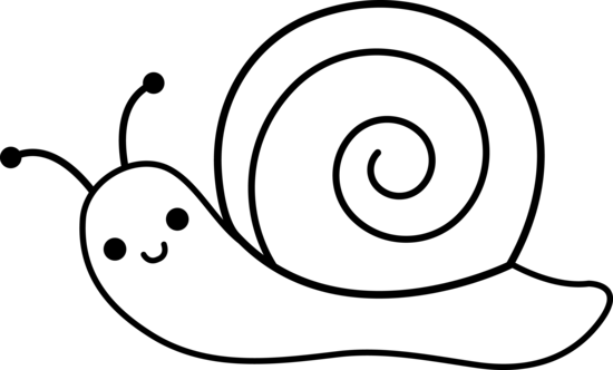 jpg free library PNG Snail Black And White Transparent Snail Black And White
