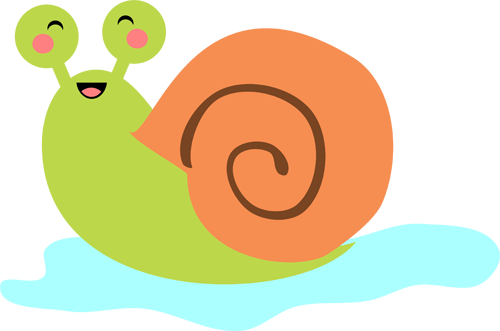 clip stock Chibi Snail