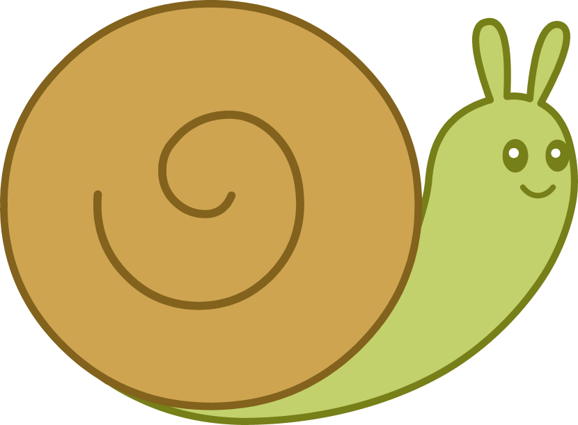 jpg library library Snail clipart