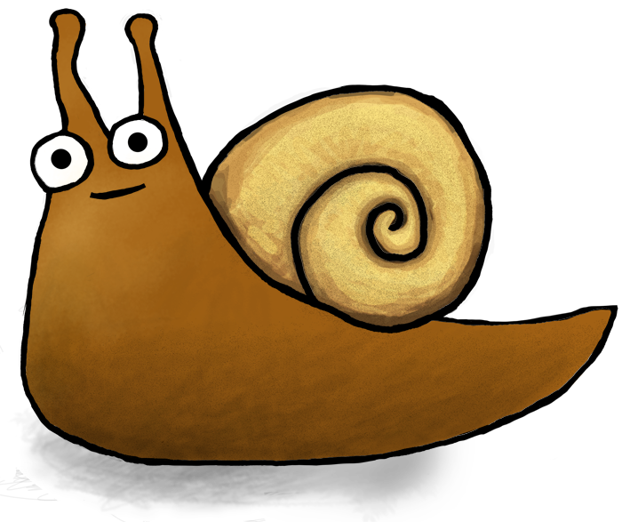 banner freeuse library About Sherman the Snail