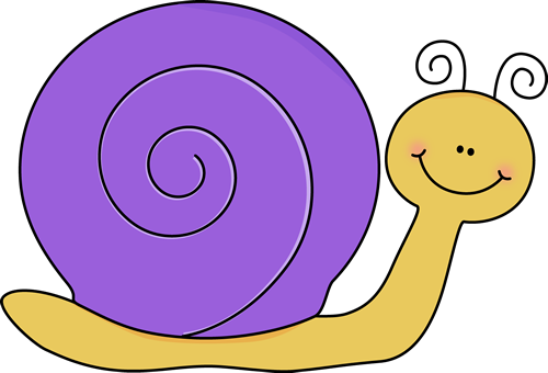 clip art freeuse download Yellow and Purple Snail