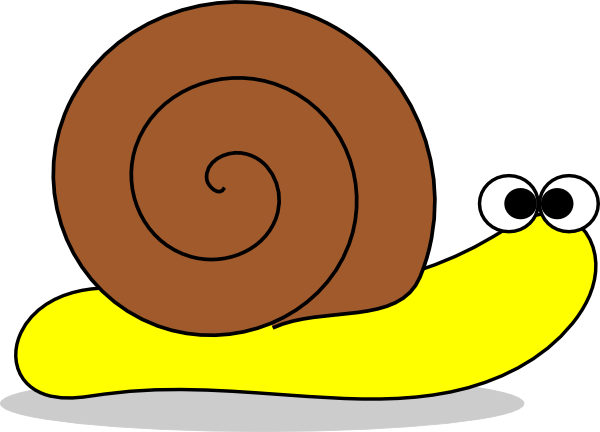 royalty free Snail No Mouth Clip Art at Clker