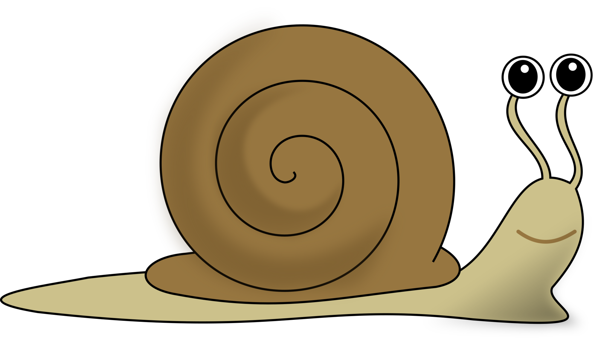 clip black and white download Snail Pictures