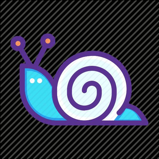 image transparent library Snail clipart sluggish. Mollusc shell slow icon