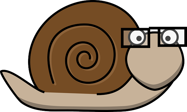 clip black and white download Snail clipart sluggish. How to fix a
