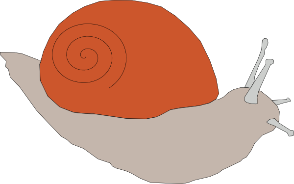 graphic royalty free snail clipart small #83466940