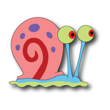 vector freeuse stock Gary the Snail by domejohnny on DeviantArt