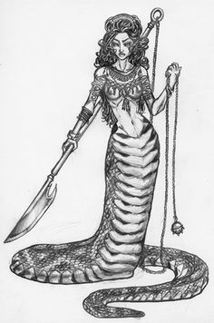 jpg Drawing snake mythical. How to draw a