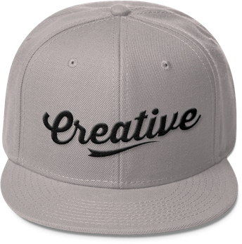 jpg freeuse stock Snapback vector cap design. Your own hat printful