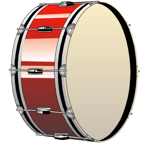 banner free Bass Drums Snare Drums Clip art