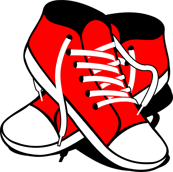 freeuse library Sneakers clipart svg. Clip art at clker.