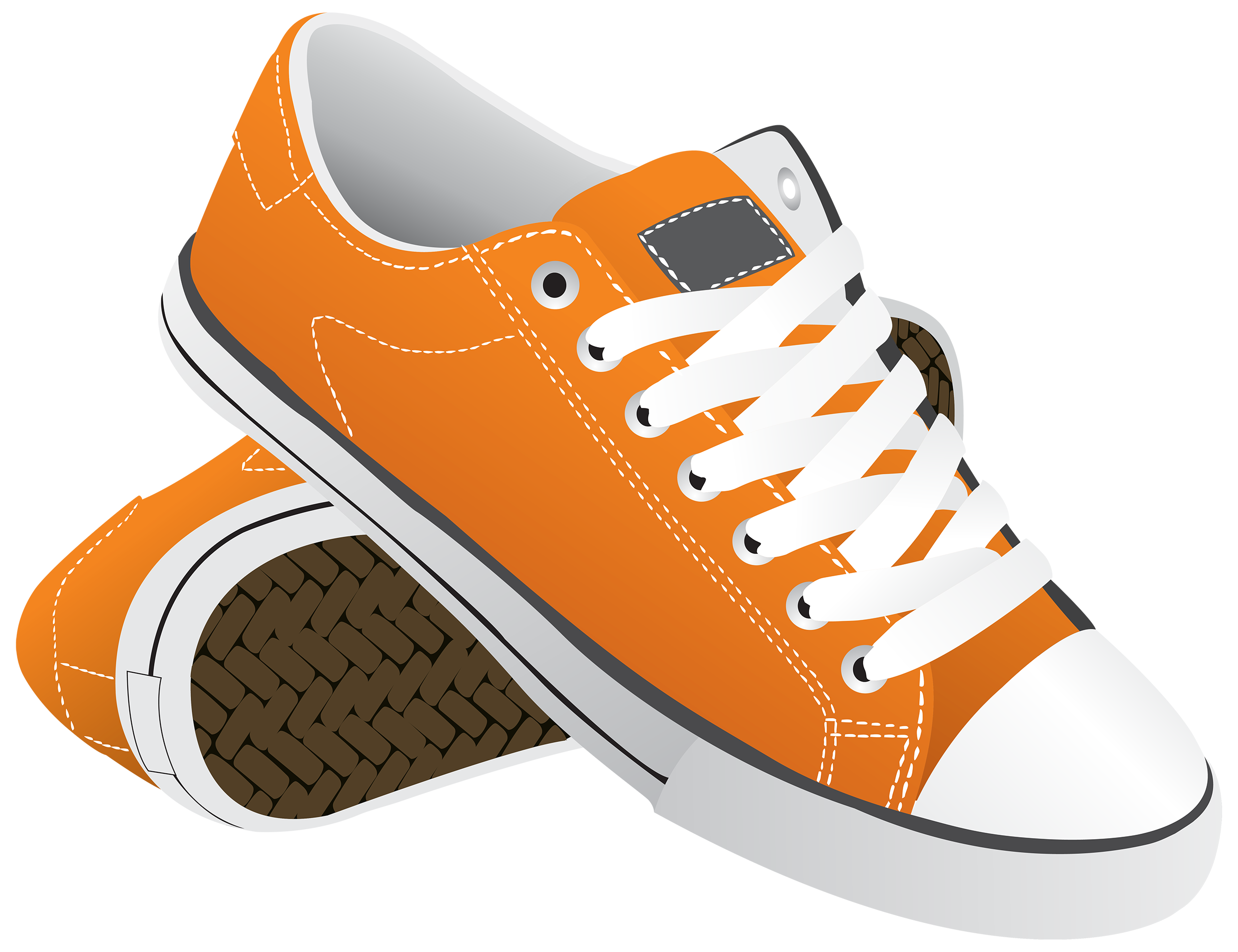 graphic freeuse library Gym Shoes Clipart sneaker