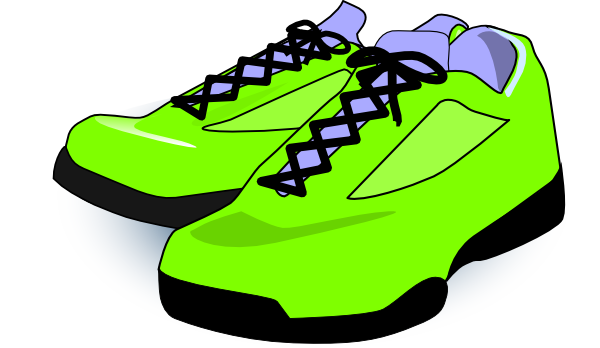 png library Neon Sneakers Clipart