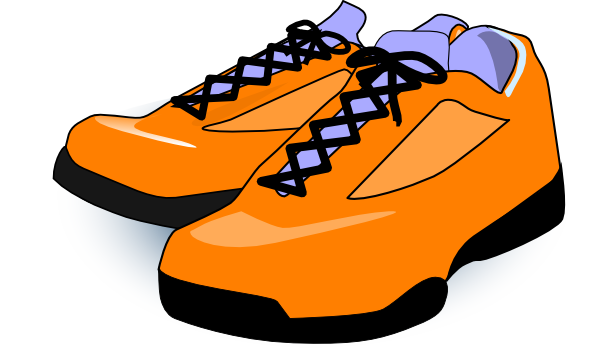 graphic transparent library Tennis shoe clipart. Gym shoes girl free