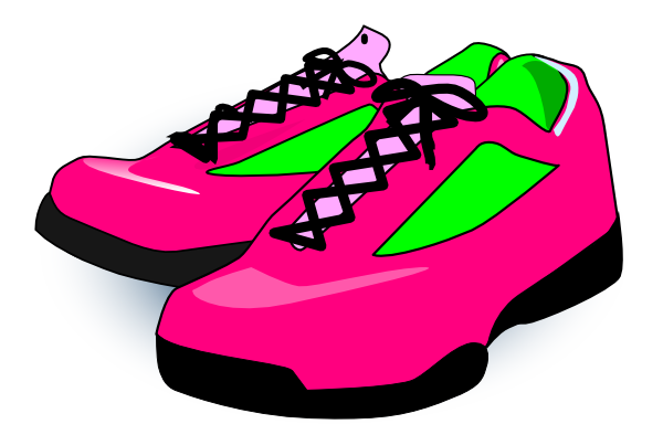 clip free stock Gym Shoes Clipart sneaker