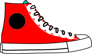 banner transparent stock High top . Sneakers clipart