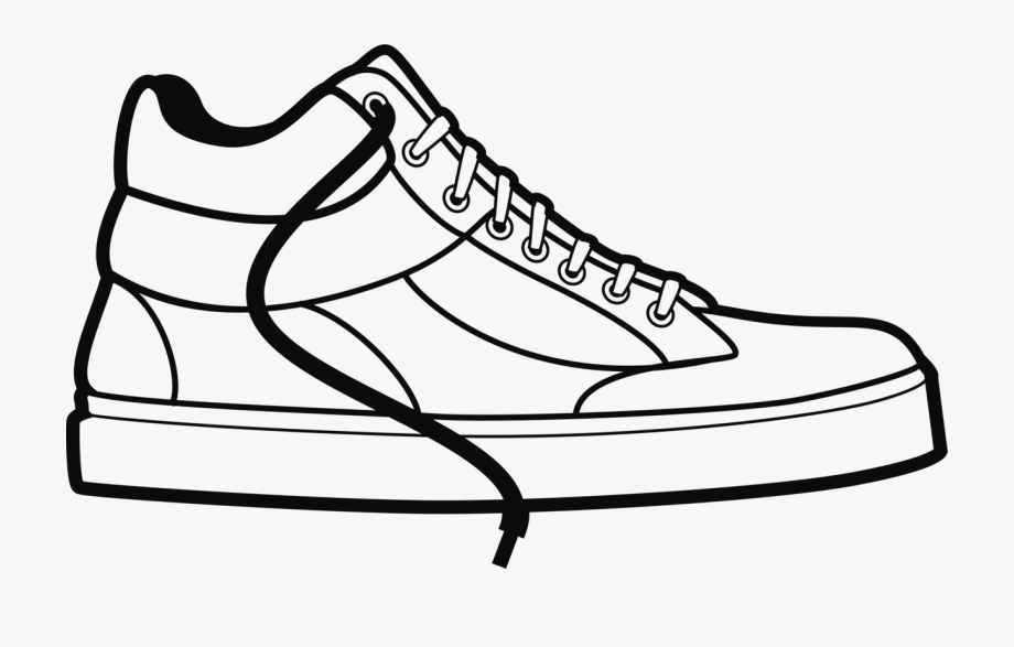 royalty free library Sneakers clipart. Sneaker sport shoe schuh