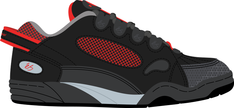 png royalty free A History of Skate Shoes