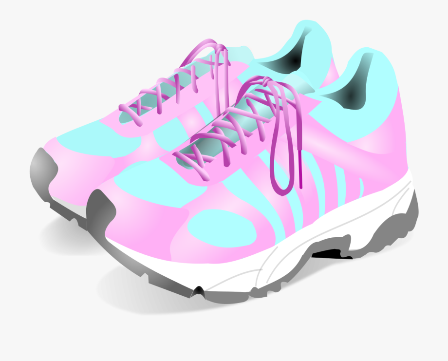 png freeuse download Tennis shoes clipart. Free pink cliparts download