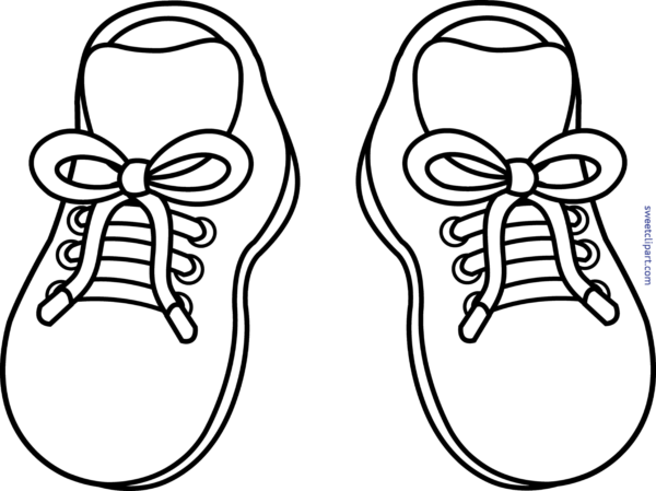 clip free stock Sweet clip art page. Drawing sneakers cute
