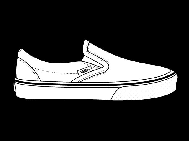 jpg transparent Drawing sneakers sapatos. Shoe clipart vans free