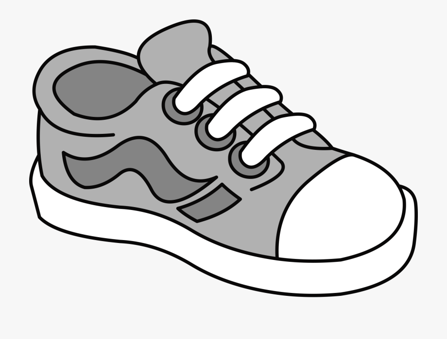 clip art freeuse download Kids shoes clipart.  tenis kid shoe