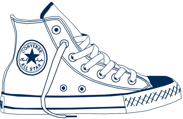 clipart freeuse stock Converse clipart transparent