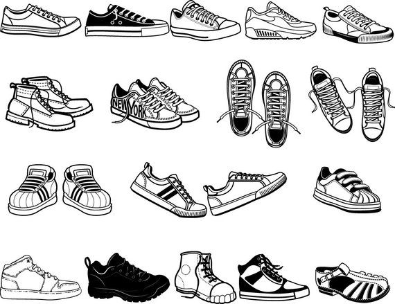 clip art transparent Buy get free shoes. Sneakers clipart svg.
