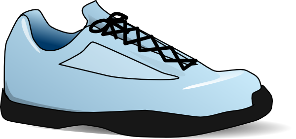 clip art library library Shoe clip art at. Sneakers clipart svg.