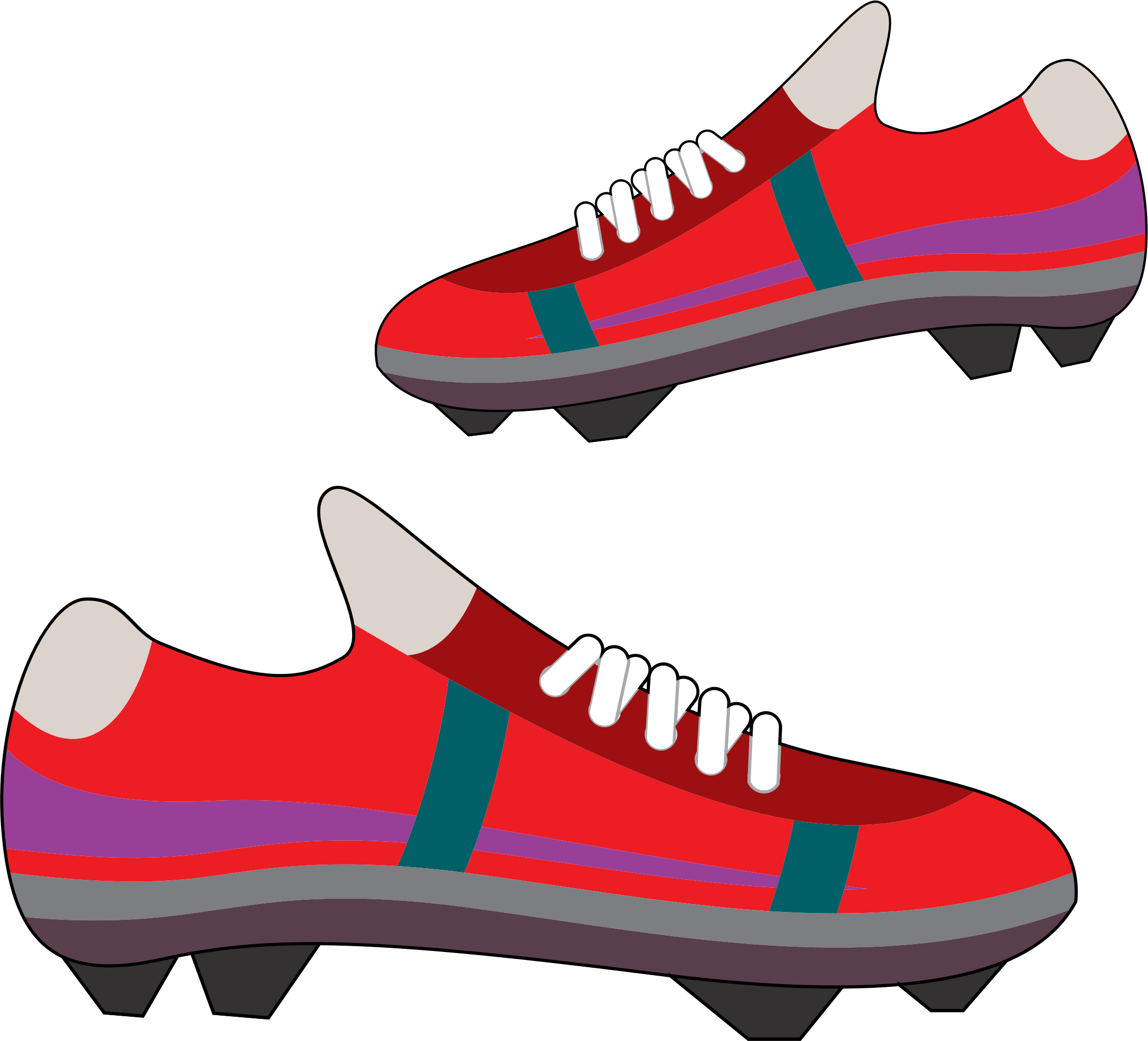 png library library Running shoes free on. Sneakers clipart svg.