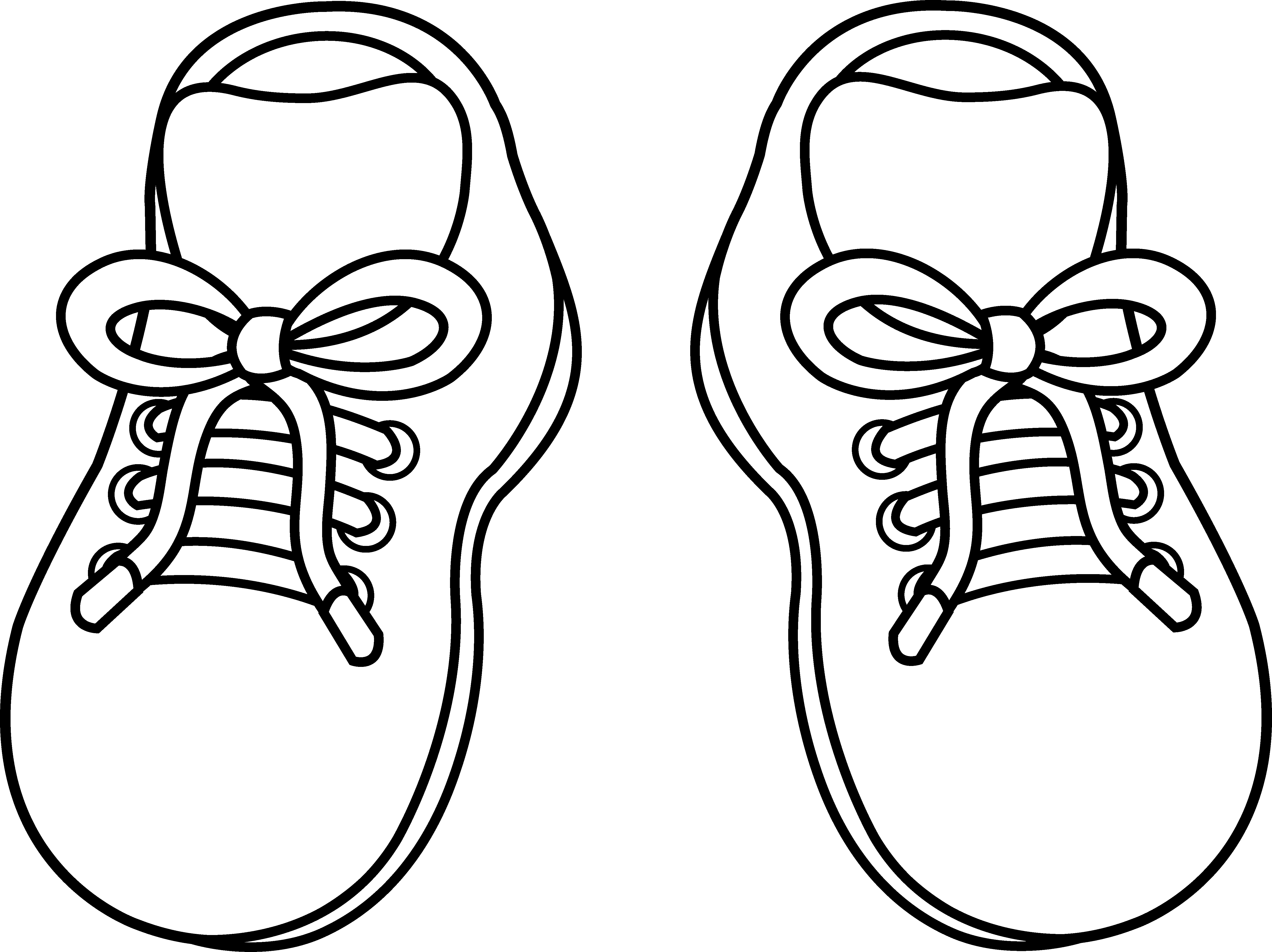 png black and white library Cliparts zone clipart. Drawing sneakers cartoon