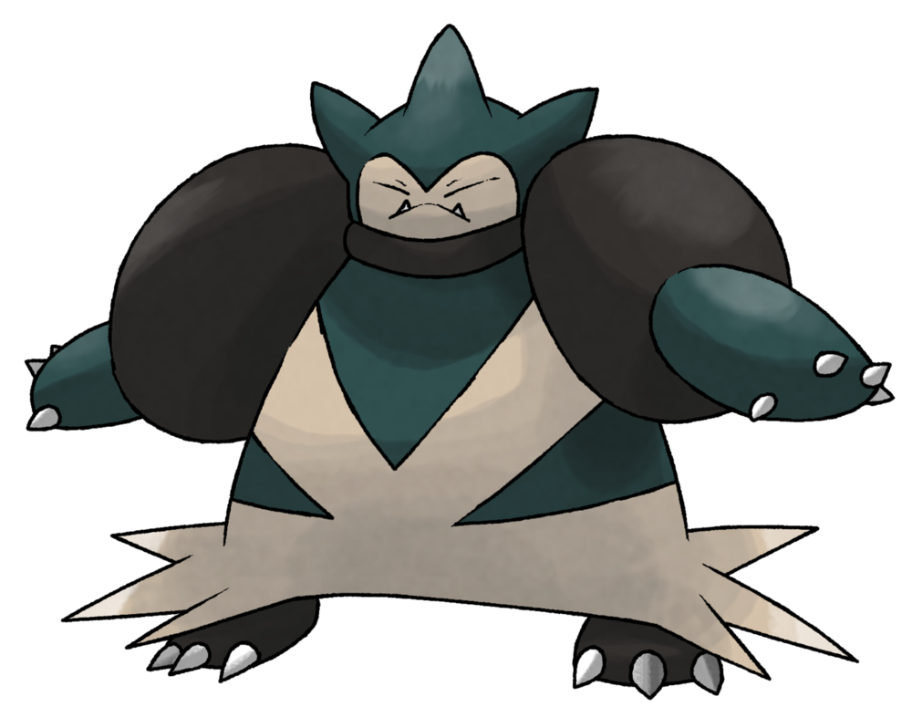 graphic royalty free MEGA SNORLAX by cscdgnpry
