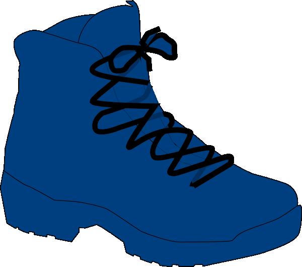 clip art transparent download Dark Blue Boot Clip Art at Clker