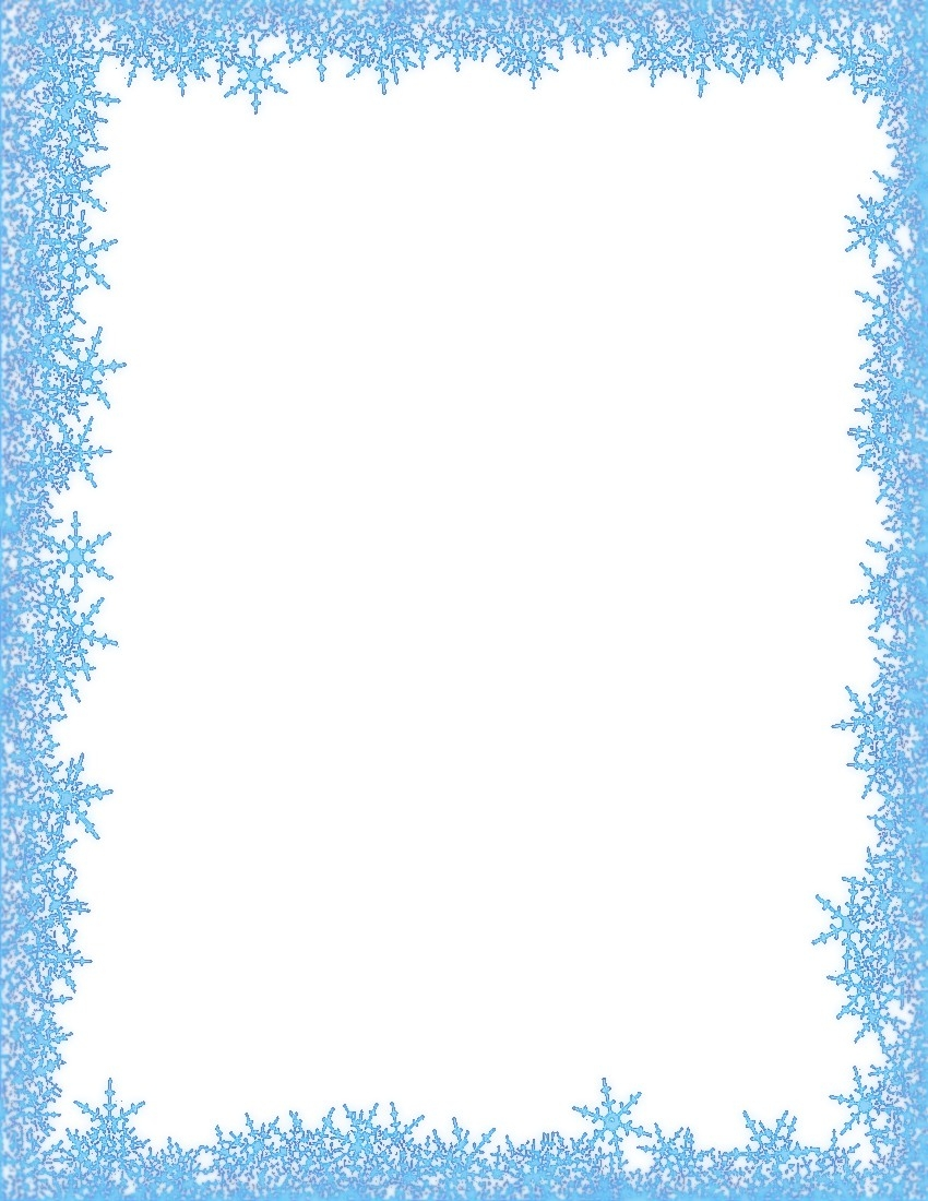 svg library download Free snowflake frame cliparts. Snow border clipart