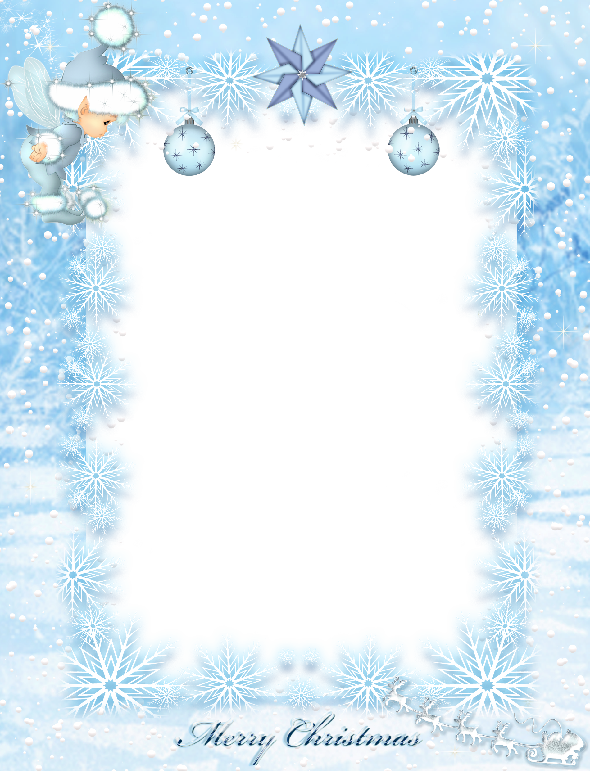 clip transparent Winter borders clipart. Transparent kids christmas ice