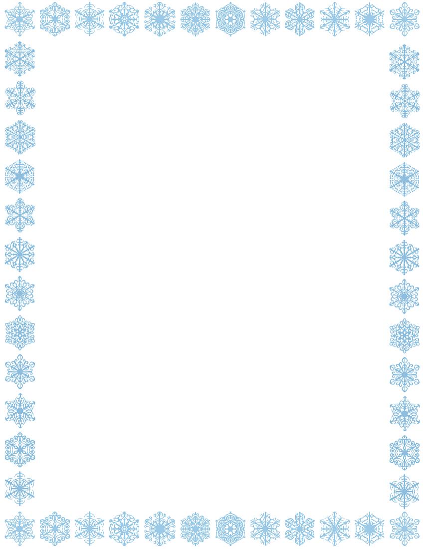 vector transparent stock Free border download clip. Snow borders clipart.