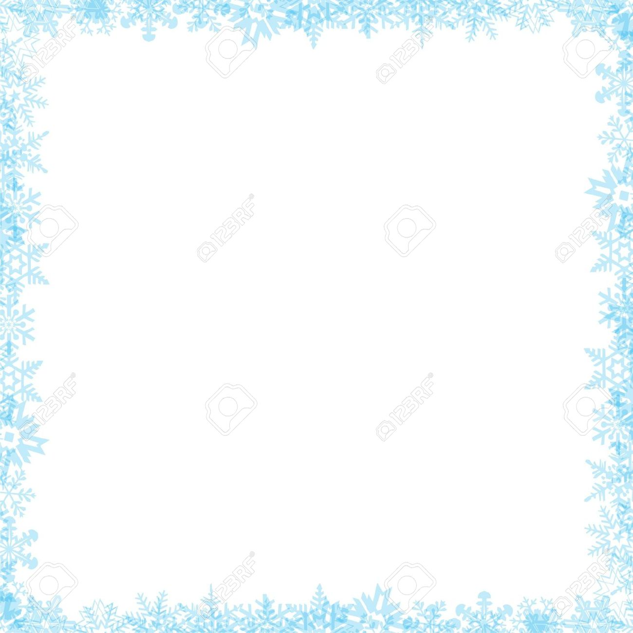 image freeuse stock Snow borders clipart. Station .