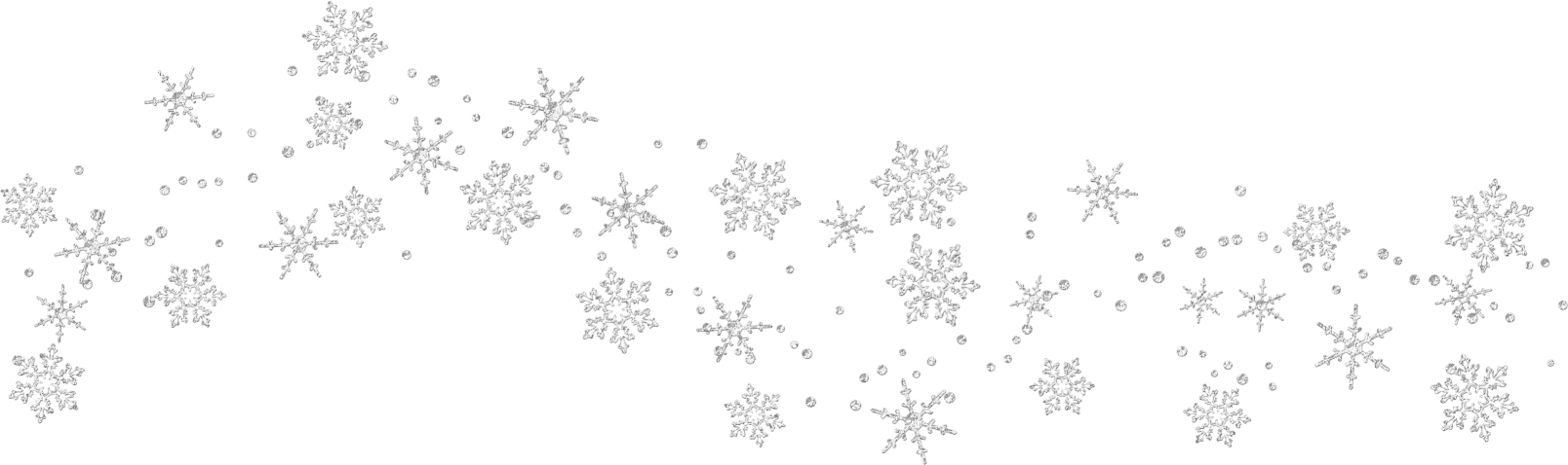 vector library Snow flakes snowflakes transparent. Snowflake borders clipart.