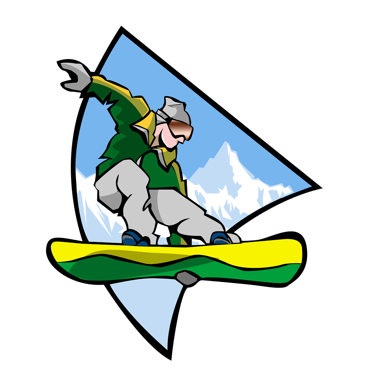 clip art royalty free Sports man transparent png. Snowboarding clipart.