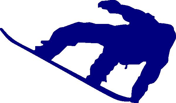 clip art free library Snowboard Navy Blue Clip Art at Clker