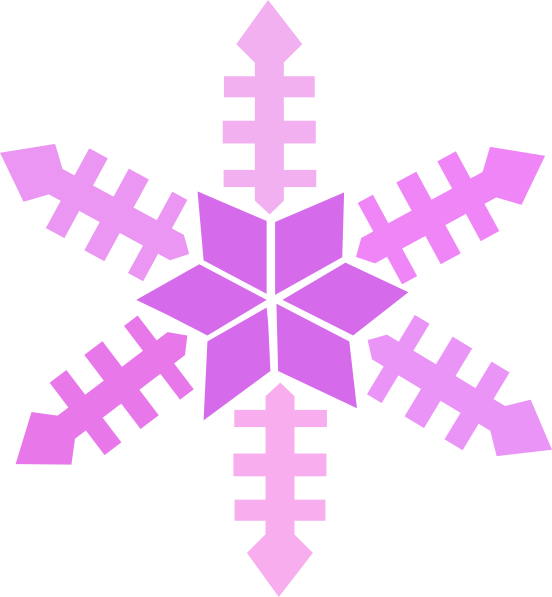 clip art royalty free Snowflakes clipart borders. Purple snowflake border