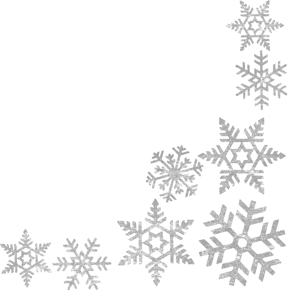 banner transparent stock snowflakes border clipart #59682661